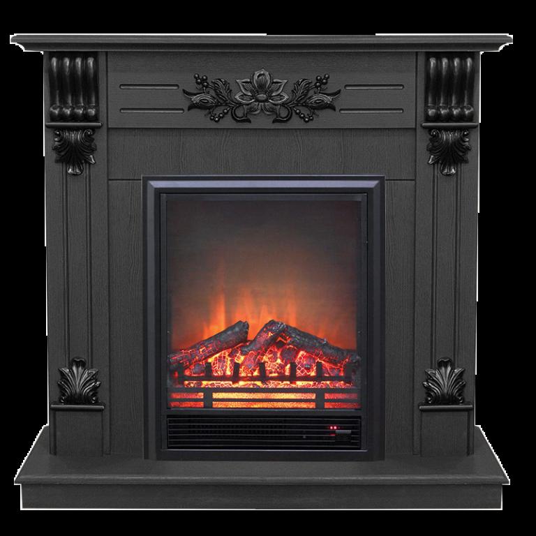 Каминокомплект Real Flame портал Ottawa DN c очагом Fobos S Lux BL
