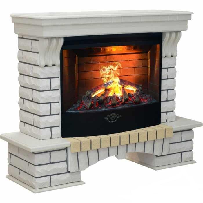Каминокомплект Real Flame портал Country 33 WT с очагом 3D Firestar 33